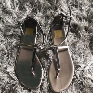 Dolce Vita silver sandals